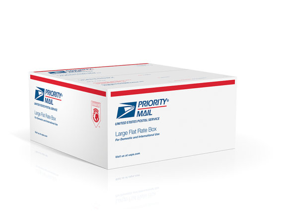 Upgraded USPS Priority Mail Small Flat Rate Box - USA Only